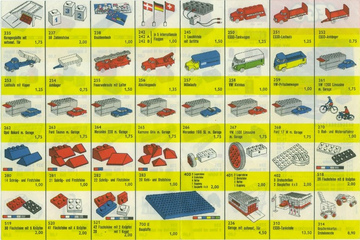 1963 German LEGO Flyer | Brochures and Catalogs