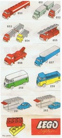 Lego 1960s Flyer | Brochures & Catalogs