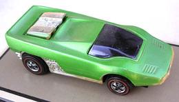 1971 straight scoop green medium