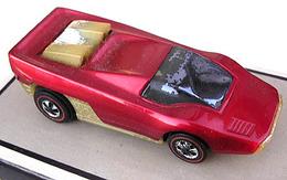1971 straight scoop red medium