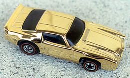 1976 chevy camaro ii gold chrome medium