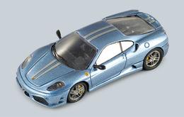 Ferrari f430 scuderia light metal blue medium