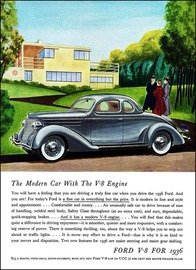 The Modern Car With The V8 Engine | Print Ads