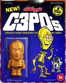 C-3PO Cereal Figure | Figures & Toy Soldiers
