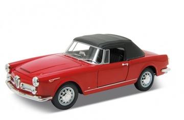 1960 Alfa Romeo Spider 2600 (Soft-Top Closed) | Model Cars