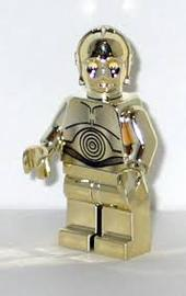 Lego C-3PO 14-Carat Gold | Figures and Toy Soldiers