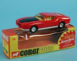 James Bond Ford Mustang Mach 1 | Model Cars | A mint model with original box.