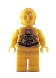 Lego C-3PO Plain Legs | Figures & Toy Soldiers