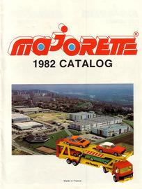 Majorette 1982 Catalog | Brochures & Catalogs