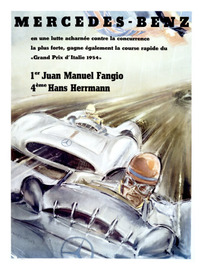 Grand Prix D'Italie 1954 | Posters and Prints