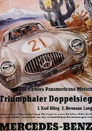 III. Carrera Panamericana Mexico - Triumphaler Doppelsieg | Posters and Prints