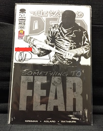 The Walking Dead #100 SDCC Variant | Comics & Graphic Novels | Signed and Personalized by Charlie Adlard. (Personalization has been red-out).