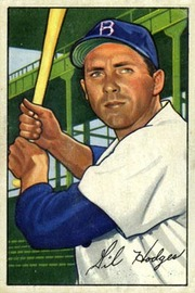 Gil Hodges - 1952 Bowman No. 80 | Sports Cards (Individual)