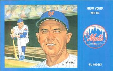 Gil Hodges Postcard | Postcards
