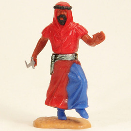 Arab with dagger, left hand up | Figures and Toy Soldiers