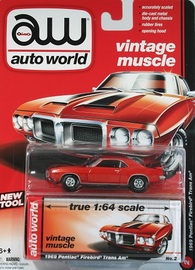 1969 Pontiac Firebird Trans Am | Model Cars