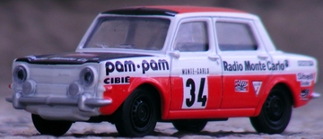 Norev Simca 1000 Rallye-2 | Model Cars | Norev made 3 inch-scale Simca 1000 Rallye-2 rally car.