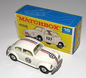 Volkswagen 1500 Saloon Herbie the Love Bug | Model Cars