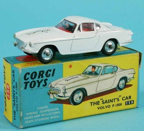 The Saint's Volvo P1800 | Model Cars
