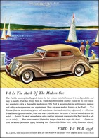 V-8 Is The Mark Of The Modern Car | Print Ads