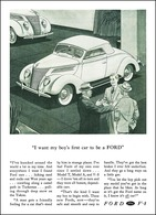 """I Want My Boy's First Car To Be A Ford"" 