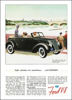 Eight Cylinders For Smoothness ... And Economy | Print Ads