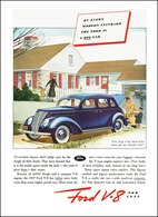 By Every Modern Standard, The Ford Is A Big Car | Print Ads