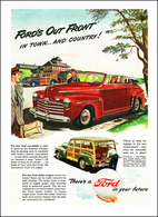Ford's Out Front In Town And Country! | Print Ads