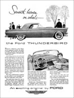 Seventh Heaven On Wheels ― The Ford Thunderbird | Print Ads