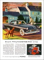 6 A.M. It's Thunderbird Time | Print Ads