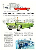Even Dreamier - Even Newer Ford Thunderbird For '56 | Print Ads