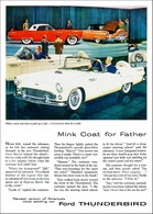 Mink Coat For Father | Print Ads