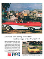 Ford's Best-Selling Convertible Has The Magic Of The Thunderbird | Print Ads