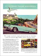 New Ford Thunderbird The Most Wanted, Most Admired Car In America - And It's Priced Far Below Other Luxury Cars! | Print Ads