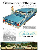 Glamour Car Of The Year ... Married In Style To The Thunderbird! | Print Ads
