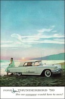 Ford Thunderbird '59 The Car Everyone Would Love To Own! | Print Ads