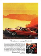 All Roads Are New When You Thunderbird   Print Ads