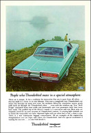 People Who Thunderbird Move In A Special Atmosphere   Print Ads