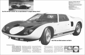 Can This Old Shell Customer Win An Unprecedented 5th Straight Sebring Victory? | Print Ads