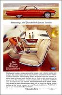 Presenting ... The Thunderbird Special Landau   Print Ads