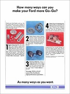 How Many Ways Can You Make Your FORD More Go-Go? | Print Ads