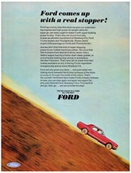 Ford Comes Up With A Real Stopper! | Print Ads