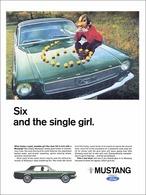 Six And The Single Girl. | Print Ads