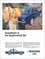 Sweetheart Of The Supermarket Set | Print Ads
