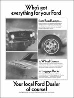 Who's Got Everything For Your Ford? | Print Ads