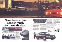 Never Have So Few Done So Much For The Enthusiast.   Print Ads