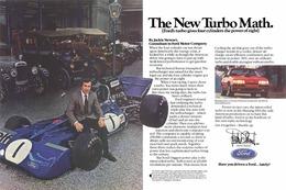 The New Turbo Math.   Print Ads