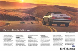 Put Everything Else Behind You.   Print Ads