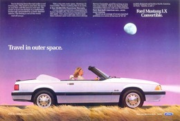 Travel In Outer Space.   Print Ads