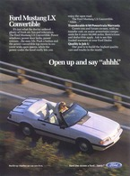 """Open Up And Say """"Ahhh"""".   Print Ads"""